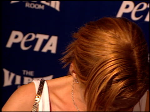 Jenna Elfman at the PETA 20th Anniversary Party at Viper Room in Hollywood California on September 13 2000