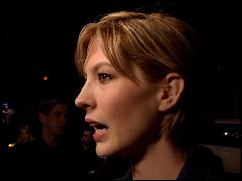 jenna elfman at the 'play it to the bone' premiere at the el capitan theatre in hollywood california on january 10 2000 - jenna elfman stock videos & royalty-free footage