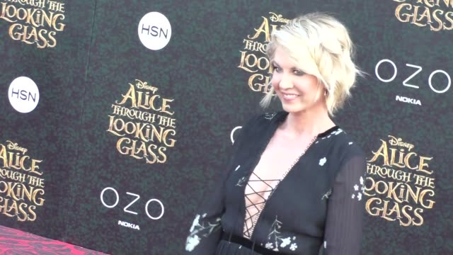 Jenna Elfman at the Premiere Of Disney's Alice Through The Looking Glass at El Capitan Theatre in Hollywood at Celebrity Sightings in Los Angeles on...