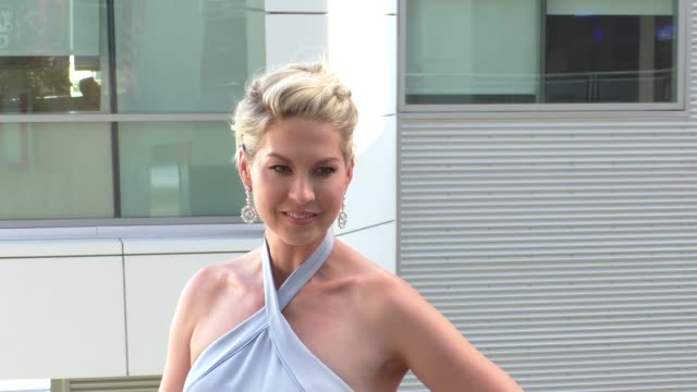 Jenna Elfman at the red carpet arriving at Dizzy Feet Dance Gala at Microsoft Theatre in Los Angeles in Celebrity Sightings in Los Angeles