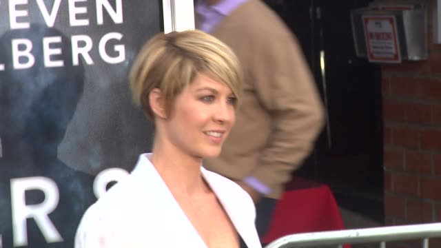 jenna elfman at the 'super 8' premiere at westwood ca - jenna elfman stock videos & royalty-free footage
