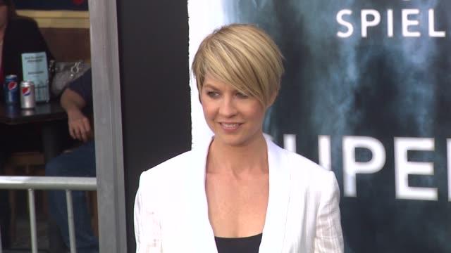 jenna elfman at the 'super 8' premiere at westwood ca. - jenna elfman stock videos & royalty-free footage