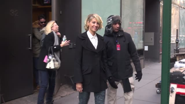 Jenna Elfman at the 'TODAY' show studio Jenna Elfman at the 'TODAY' show studio on February 06 2013 in New York New York
