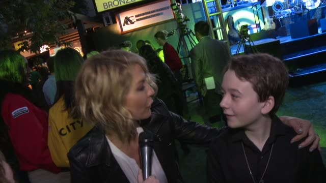 INTERVIEW Jenna Elfman Benjamin Stockham on being a part of the event what they appreciates about the work that City Year is doing where they would...