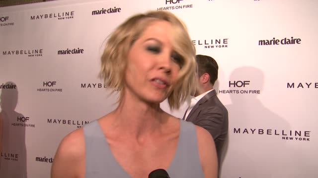 INTERVIEW Jenna Elfman on what beauty means to her her best beauty trick or secret her favorite fashion trend right now what she loves about Marie...