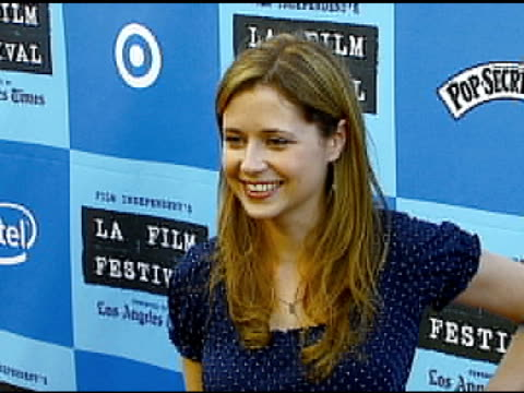 Jenna Fischer at the 'Little Miss Sunshine' Premiere at Wadsworth Theatre in Los Angeles California on July 2 2006