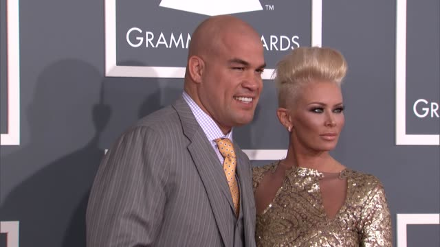 Jenna Jameson at The 55th Annual GRAMMY Awards at Staples Center on February 10 2013 in Los Angeles California