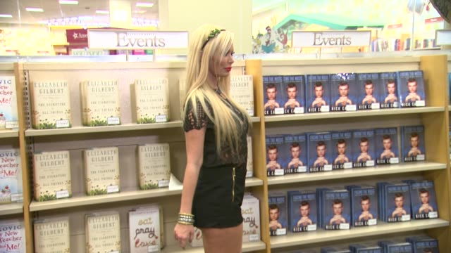 CLEAN Jenna Jameson 'Sugar' Book Signing in Los Angeles CA on