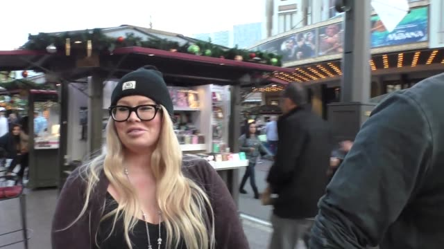 INTERVIEW Jenna Jameson talks about Trump her moving out of the country while shopping at The Grove in Hollywood in Celebrity Sightings in Los Angeles