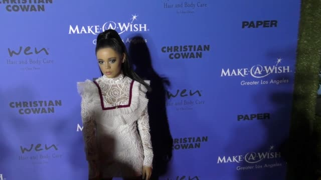 Jenna Ortega at the PAPER Magazine Runway Benefit For MakeAWish Foundation on October 24 2017 in Los Angeles California