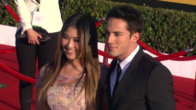 Jenna Ushkowitz at 18th Annual Screen Actors Guild Awards Arrivals on 1/29/2012 in Los Angeles CA