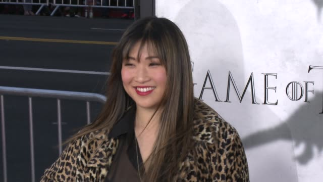 Jenna Ushkowitz at Game of Thrones Season 3 Premiere on 3/18/13 in Los Angeles CA