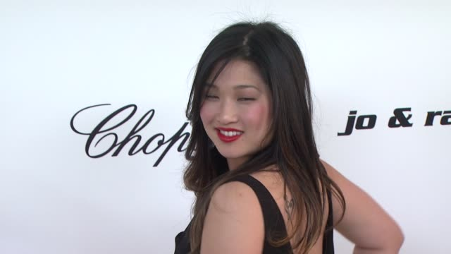 Jenna Ushkowitz at the 19th Annual Elton John AIDS Foundation Academy Awards Viewing Party at West Hollywood CA
