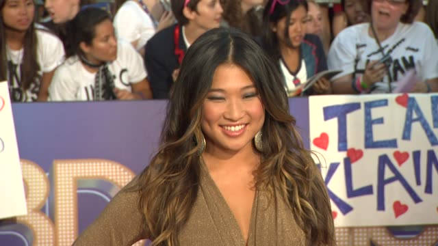 Jenna Ushkowitz at the 'GLEE The 3D Concert Movie' Los Angeles Premiere at Westwood CA