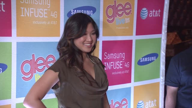 Jenna Ushkowitz at the GLEE's William McKinley High School Comes To Life At The First Ever 'SAMSUNG ATT SPRING FLING' at New York NY