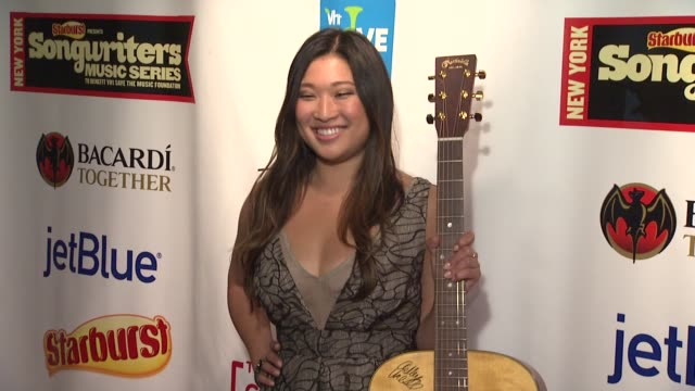 Jenna Ushkowitz at the Starburst Presents Songwriters Music Series To Benefit The VH1 Save The Music Foundation With Matthew Morrison at New York NY