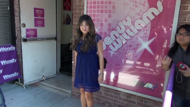 Jenna Ushkowitz at 'The Wendy Williams Show' studio Jenna Ushkowitz at 'The Wendy Williams Show' studi on May 17 2012 in New York New York