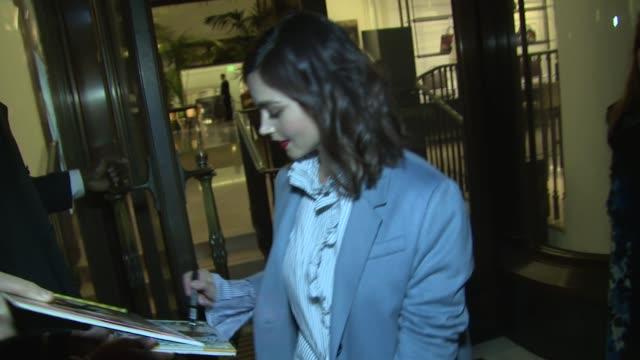 JennaLouise Coleman on November 01 2016 in London England
