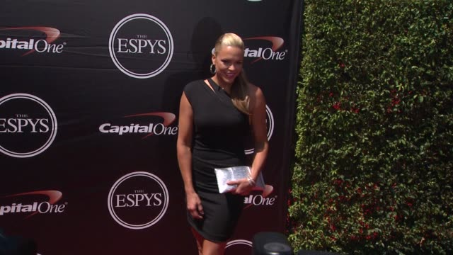 jennie finch at the 2015 espys at microsoft theater on july 15 2015 in los angeles california - microsoft theater los angeles stock videos and b-roll footage