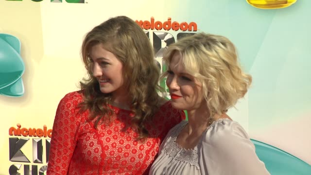 jennie garth at nickelodeon's 25th annual kids' choice awards on 3/31/2012 in los angeles, ca. - nickelodeon stock videos & royalty-free footage