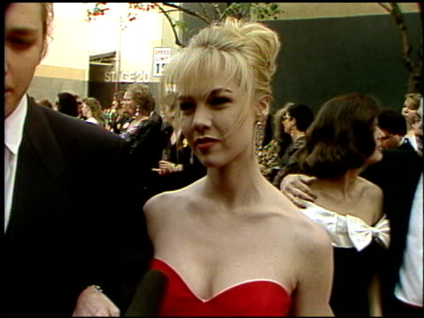 Jennie Garth at the 1992 People's Choice Awards at Universal Studios in Universal City California on March 1 1992