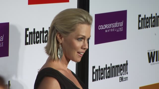 jennie garth at the entertainment weekly - women in film pre-emmy party at west hollywood ca. - pre emmy party stock videos & royalty-free footage