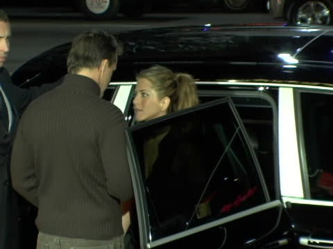 Jennifer Aniston arrives at the Premiere and walks over to fans to sign autographs at the Los Angeles Premiere of Friends with Money at The Egyptian...