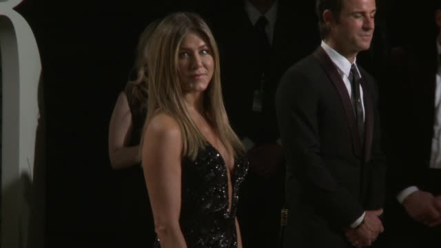 jennifer aniston at 2017 vanity fair oscar party hosted by graydon carter on february 26 2017 in beverly hills california - jennifer aniston stock videos & royalty-free footage