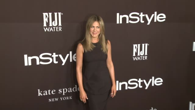 jennifer aniston at 2018 insyle awards at the getty center on october 22 2018 in los angeles california - jennifer aniston stock videos & royalty-free footage