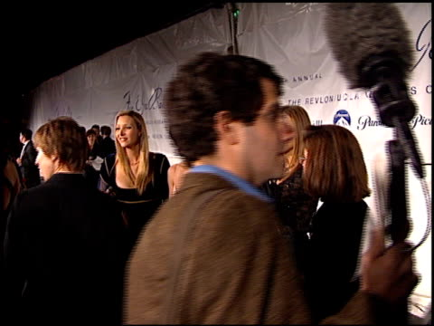 jennifer aniston at the 1997 fire and ice ball on december 3 1997 - 1997 stock videos & royalty-free footage