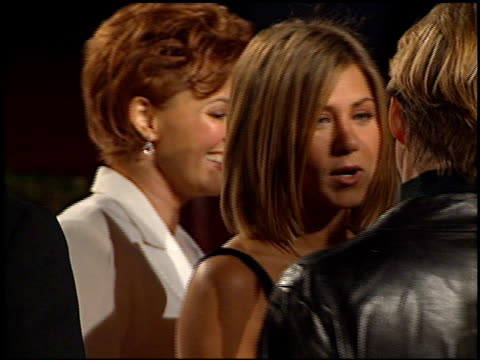 jennifer aniston at the 2001 people's choice awards at the pasadena civic auditorium in pasadena california on january 7 2001 - people's choice awards stock videos & royalty-free footage