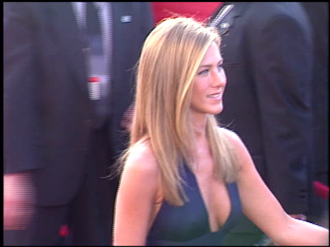 jennifer aniston at the 2003 emmy awards at the shrine auditorium in los angeles california on september 21 2003 - jennifer aniston stock videos & royalty-free footage