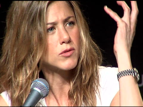 jennifer aniston at the 2006 sundance film festival friends with money press conference on january 20 2006 - money press stock videos and b-roll footage