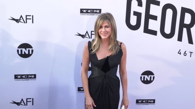 Jennifer Aniston at the American Film Institute Honors George Clooney With 46th AFI Life Achievement Award at Dolby Theatre on June 07 2018 in...