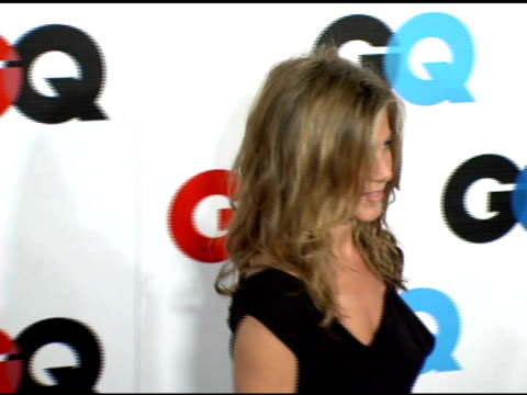 jennifer aniston at the gq's 2005 'men of the year' celebration at mr chow beverly hills in beverly hills california on december 2 2005 - jennifer aniston stock videos & royalty-free footage