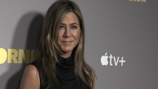jennifer aniston at 'the morning show' special screening at ham yard hotel on november 01 2019 in london england - jennifer aniston stock videos & royalty-free footage
