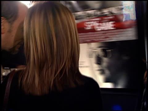 Jennifer Aniston at the 'Spy Game' Premiere on November 19 2001