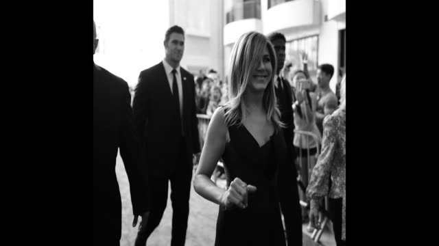 vídeos de stock, filmes e b-roll de jennifer aniston attends the american film institute's 46th life achievement award gala tribute to george clooney at dolby theatre on june 7 2018 in... - american film institute