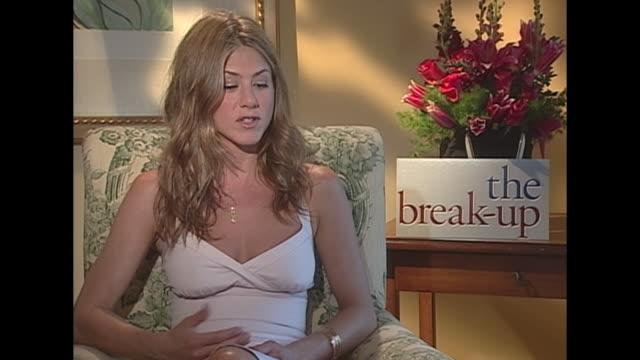 jennifer aniston on breakups - jennifer aniston stock videos & royalty-free footage