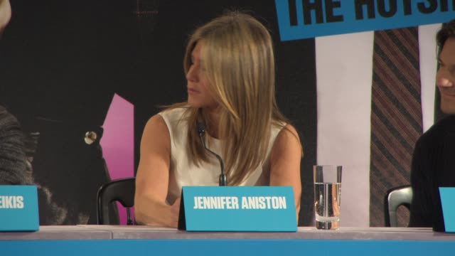 jennifer aniston on what she loves about her character, the positive and negative feminist issues in film and the comedy of sex obsession at... - film negative stock videos & royalty-free footage