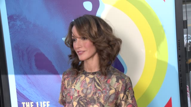 jennifer beals at the love mercy los angeles premiere at ampas samuel goldwyn theater on june 02 2015 in beverly hills california - samuel goldwyn theater stock videos & royalty-free footage