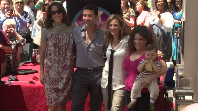 Jennifer Beals Fabian Sanchez Marlee Matlin and Marissa Winokur at the Marlee Matlin Honored With A Star On The Hollywood Walk Of Fame at Hollywood CA