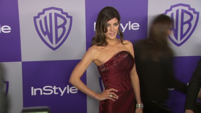 vídeos y material grabado en eventos de stock de jennifer carpenter at the warner bros and instyle golden globe afterparty at beverly hills ca - warner bros