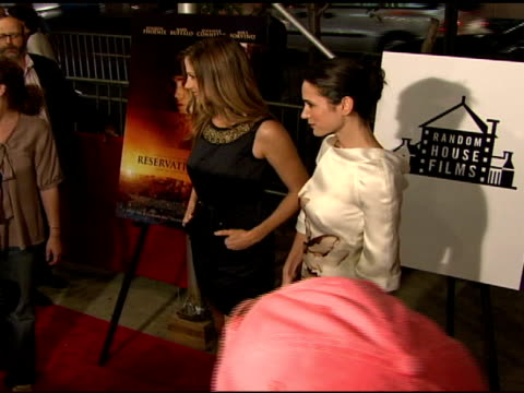 Jennifer Connelly and Mira Sorvino at the 'Reservation Road' New York Premiere at United Artist Theater in New York New York on October 4 2007