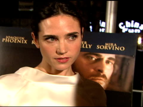 jennifer connelly on her character in the film, how as a mother the story really hits close to her heart, what it was like working with the cast and... - versace designer label stock videos & royalty-free footage