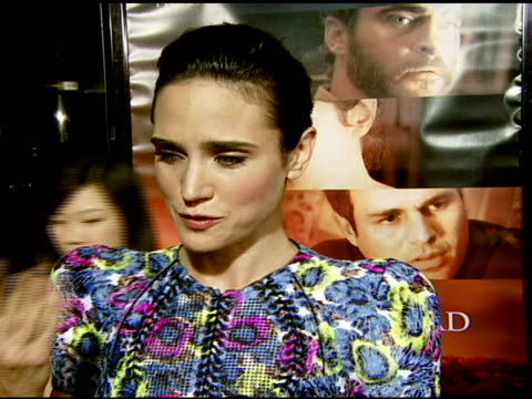 vidéos et rushes de jennifer connelly on her role and the traits she wanted her character to possess at the 'reservation road' los angeles premiere at academy of motion... - academy of motion picture arts and sciences