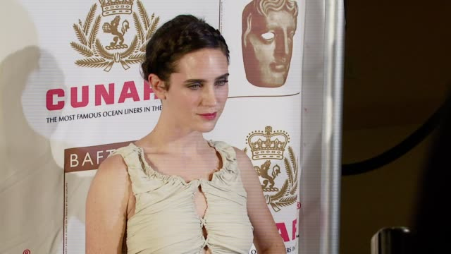 jennifer connolly at the 16th annual 2007 bafta/la cunard britannia awards at the century plaza hotel in century city california on november 1 2007 - century city stock videos & royalty-free footage