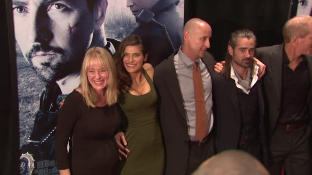 jennifer ehle, lake bell, gavin o'connor, colin farrell, noah emmerich and john ortiz at the 'pride and glory' new york premiere at new york ny. - colin farrell stock videos & royalty-free footage