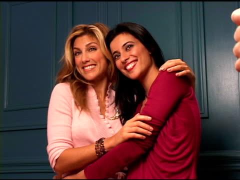 Jennifer Esposito and Bahar Soomekh at the 2004 Toronto International Film Festival 'Crash' Portraits at Intercontinental in Toronto Ontario on...