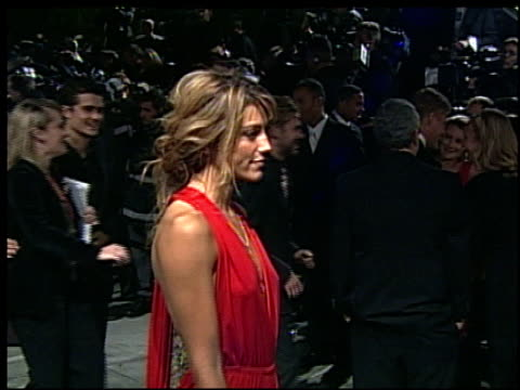 Jennifer Esposito at the 2002 Academy Awards Vanity Fair Party at Morton's in West Hollywood California on March 24 2002